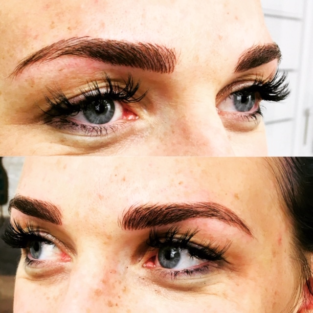 Microblading Augenbrauen Galabeauty